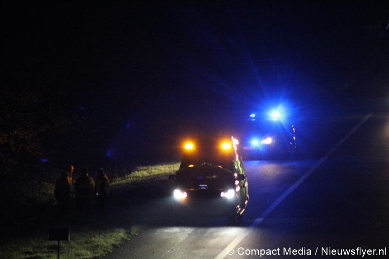 112 Kort: Autobrand blijkt ambulance met pech