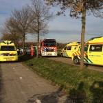 Fors verkeersongeval op Suermondsweg in Smilde