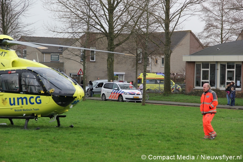 Mobiel Medisch Team assisteert ambulancedienst in Assen