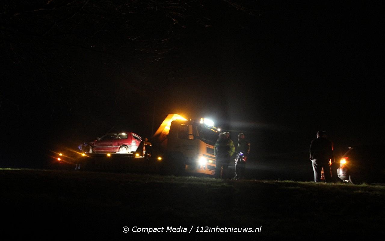 Verkeersongeval op de A28 nabij Vries