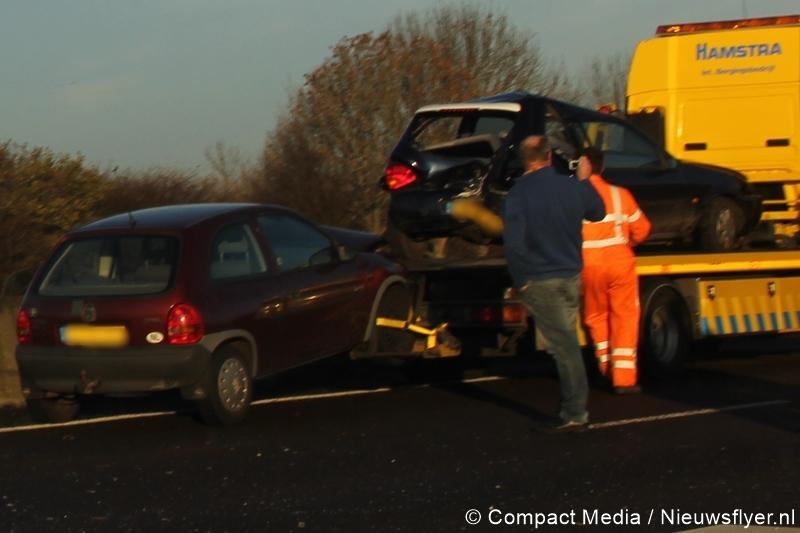 Files op A28 en N34 na ongeval nabij de Punt