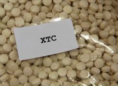 Man met 47kg XTC-pillen aangehouden