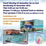 Zwemfestijn Kerstvakantie in Bonte Wever
