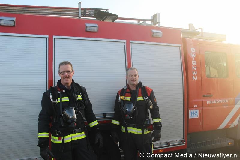 Vrijwillige brandweerlieden nemen afscheid van brandweer korps Assen