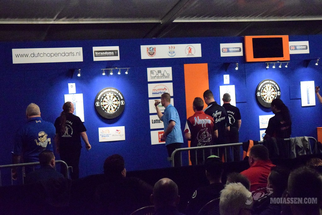 Dutch Open Darts 2016 gaat van start in De Bonte Wever
