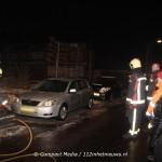 Ongelukje door gladheid bij schoorsteenbrand in Bovensmilde