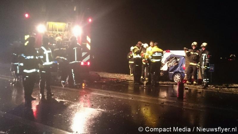Dodelijk slachtoffer bij ernstig ongeval op N34