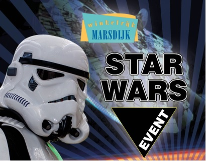 Winkelrijk Marsdijk in Assen; May the force be in Marsdijk!