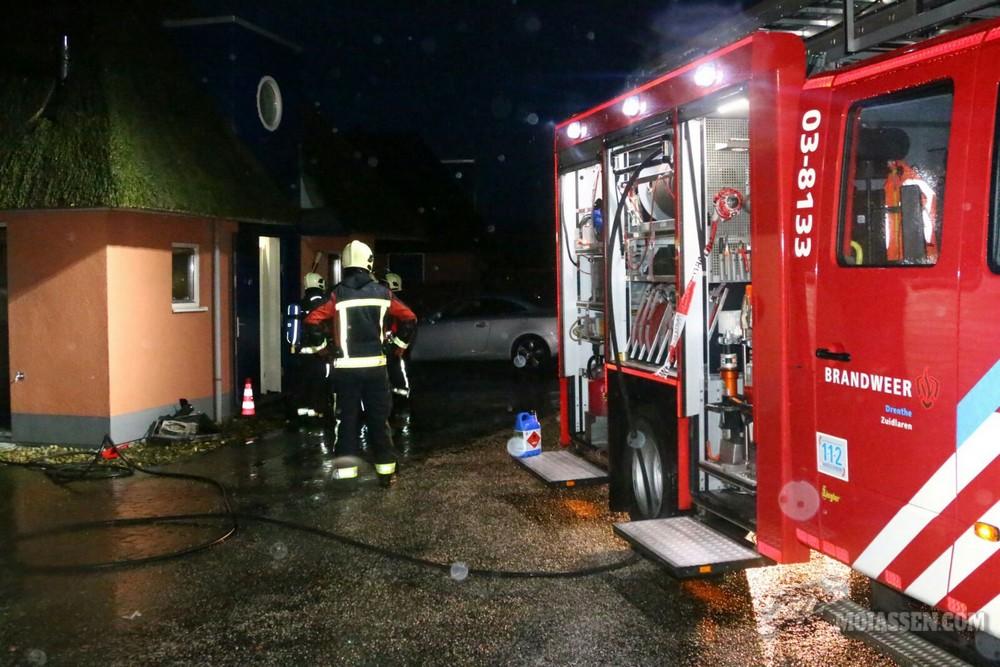 Keukenbrand in Landalpark De Bloemert