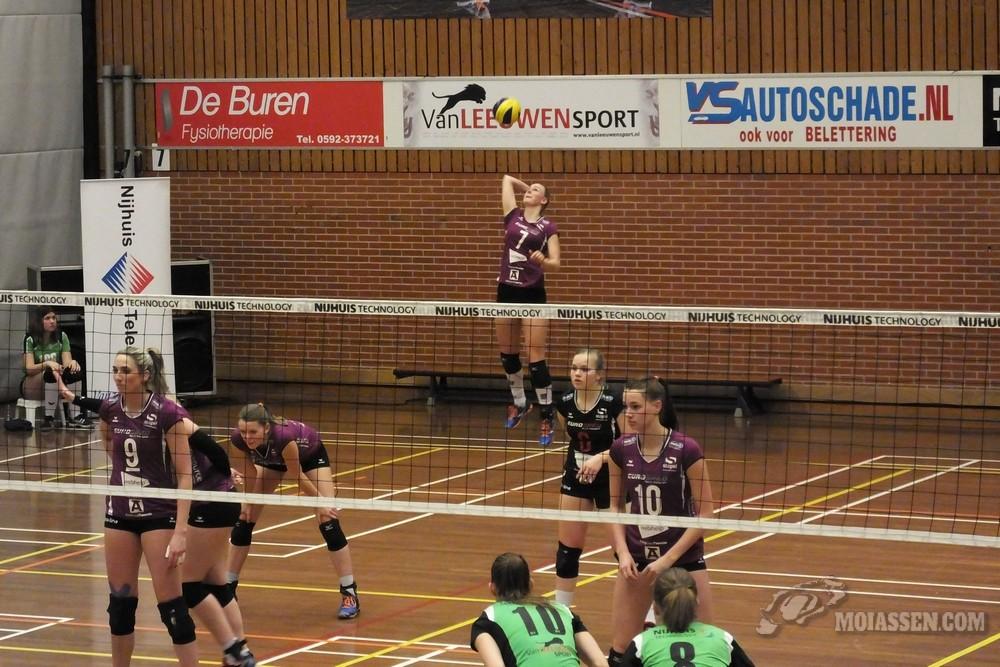 Volleybaldames Sudosa-Desto uitgeschakeld in wartfinale van het bekertoernooi