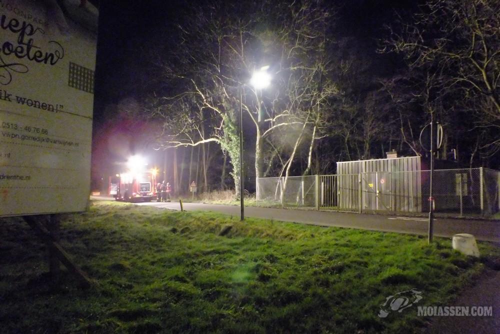 Brandweer van Assen gealarmeerd voor aardgaslekkage