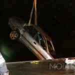 Gestolen Deense auto in Assen uit Havenkanaal gehaald