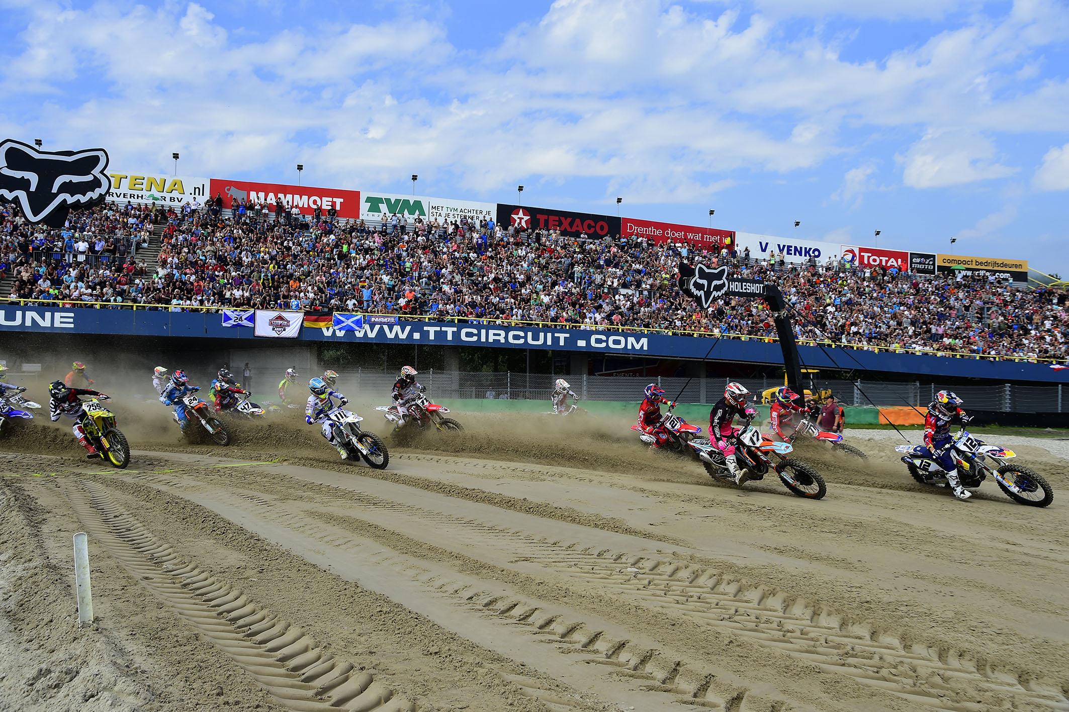 Wereldkampioenschap Motorcross opnieuw in Assen