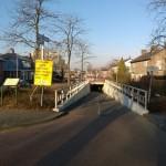 Vredeveldse tunnel Assen-Oost is per 1 maart afgesloten