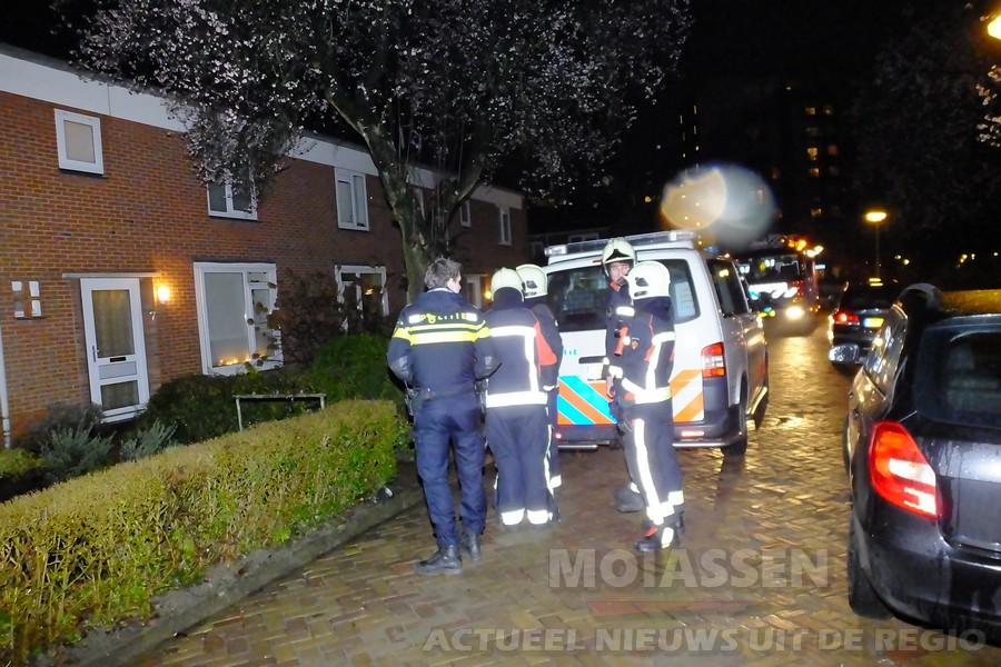 Woningbrand aan de Heymansstraat blijkt loos alarm in Assen