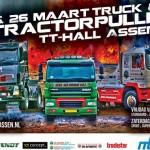 Eerste Indoor Tractorpulling TT Hall Assen