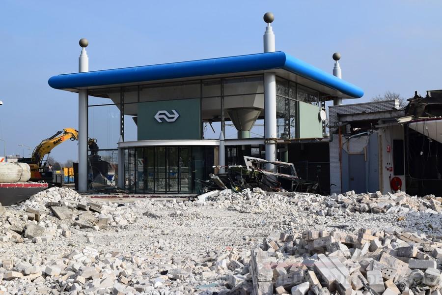 Update: rond de sloop van het stationsgebied in Assen(Video)
