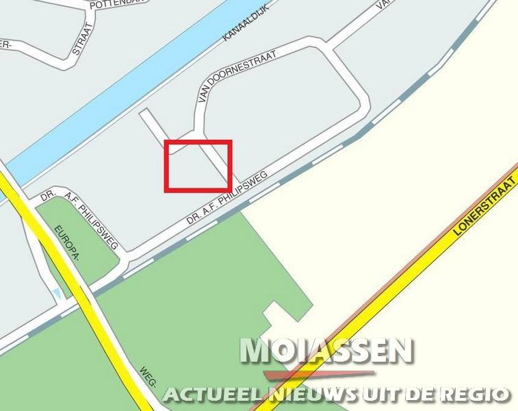 Auto meeting niet aan  Havenkade maar aan de Van Doornestraat in Assen