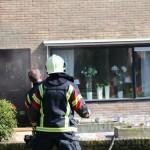 Afzuigkap vat vlam in Woning Borger