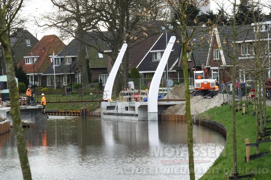 Nieuwe Weiersbrug krijgt steeds meer vorm