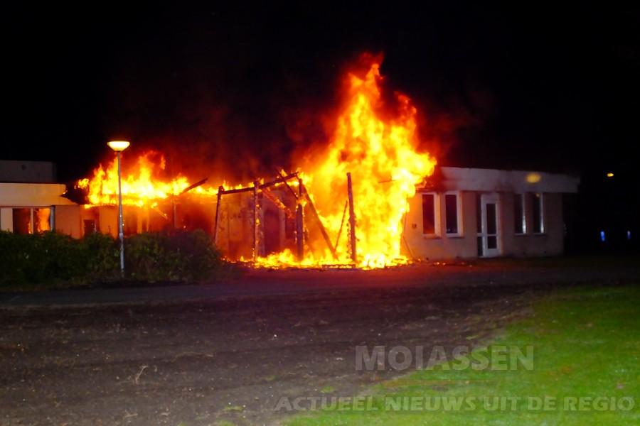 Twee branden in Assen zaterdagavond kort achter elkaar (VIDEO)
