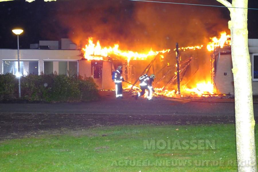 Extra maatregelen op GGZ-terreinen in Assen en Beilen na branden