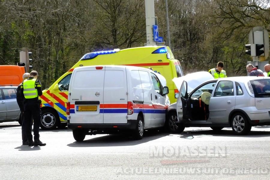 Verkeersongeval op Europaweg-Zuid in Assen