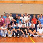 Badminton uitwisselingstoernooi senioren geslaagd