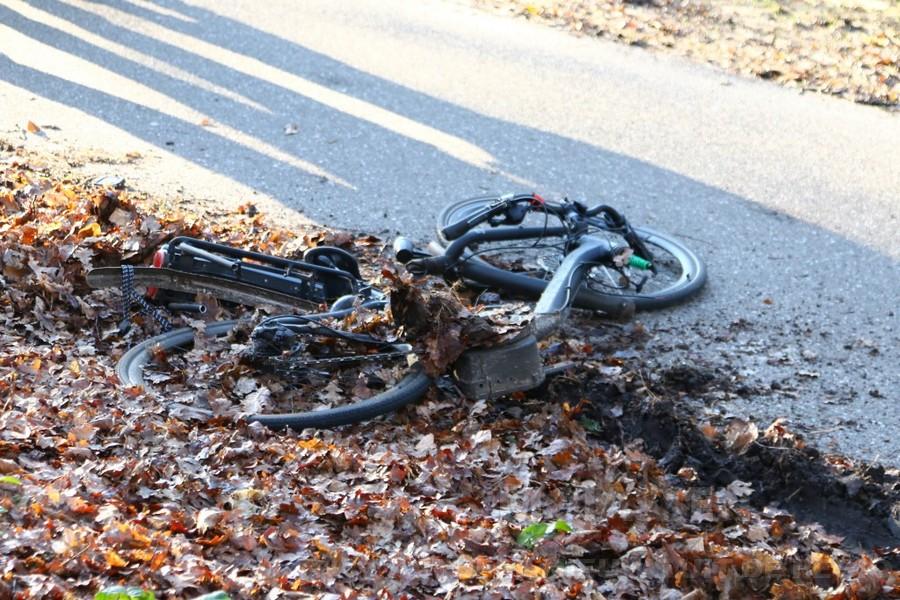 Fietser gewond bij ongeluk  tussen Rolde en Assen (Update)