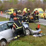 Twee gewonden bij verkeersongeval op N34 nabij Odoorn