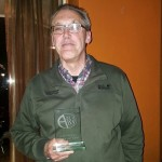 Benoeming Willem van Eeks tot lid van verdienste AQUA'68.