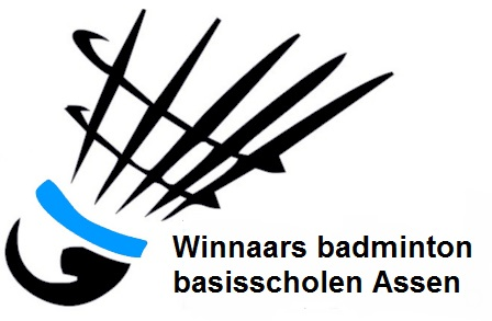 Winnaars badminton basisscholen Assen