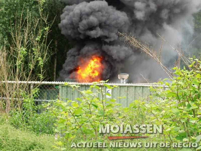Brandweer Assen rukt uit voor containerbrand