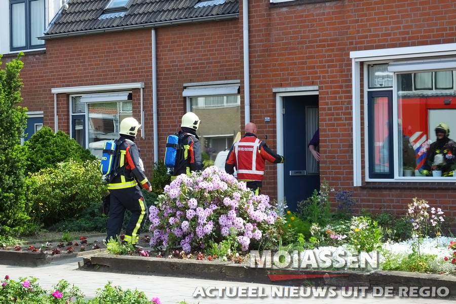 Brandweer gealarmeerd voor nacontrole aan Groningenstraat Assen