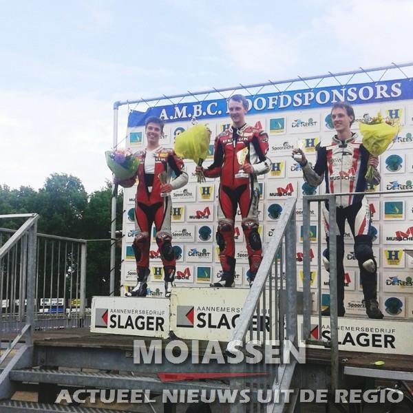 16 jarige Orlando Heijkoop uit Assen 2e is geworden in Staphorst!