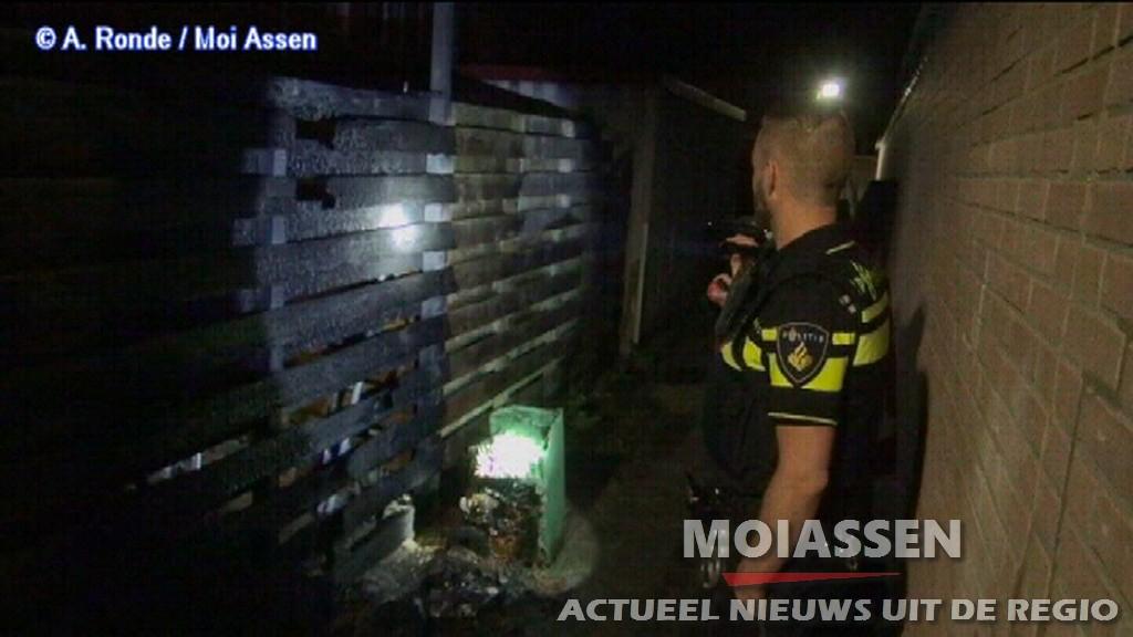 Containerbrand (kliko) Noordenveld Assen (VIDEO)