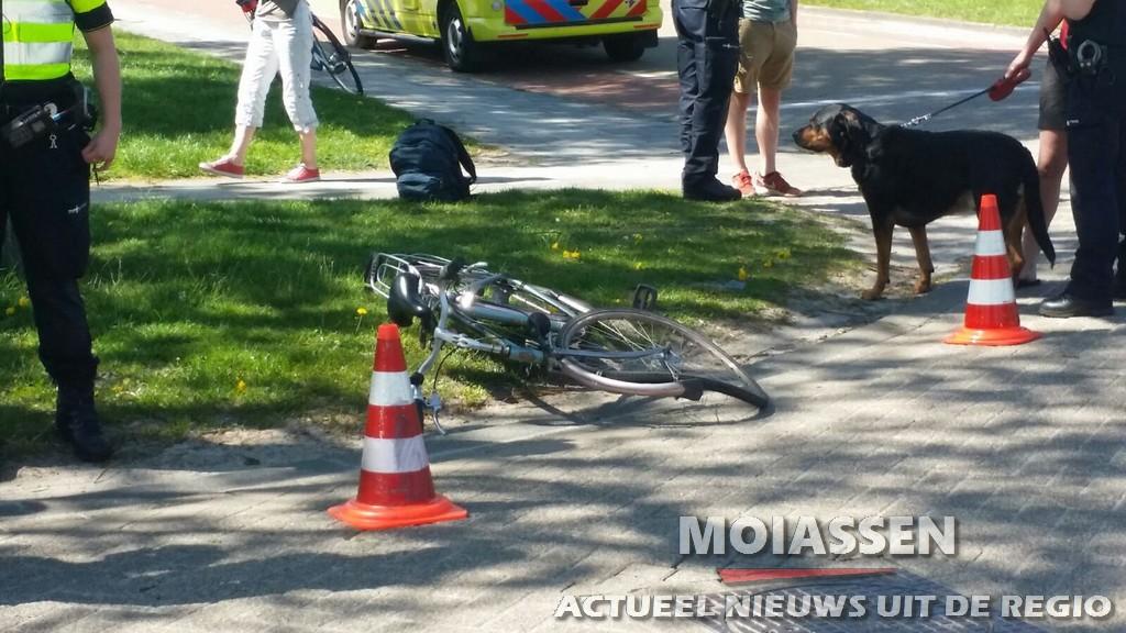 Aanrijding tussen fietser en auto op de kruising Pelikaanstraat / Vredeveldsweg in Assen
