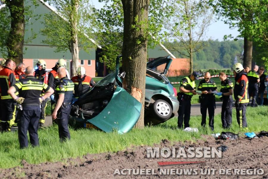 19-jarige man uit Westerbork zwaargewond bij ongeval in Odoorn (update)
