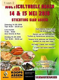Multiculturele dagen bij Stichting Siar