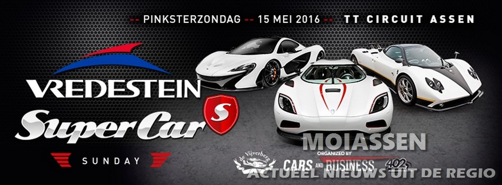 Vredestein Super Car Sunday op TT Ciruit Assen