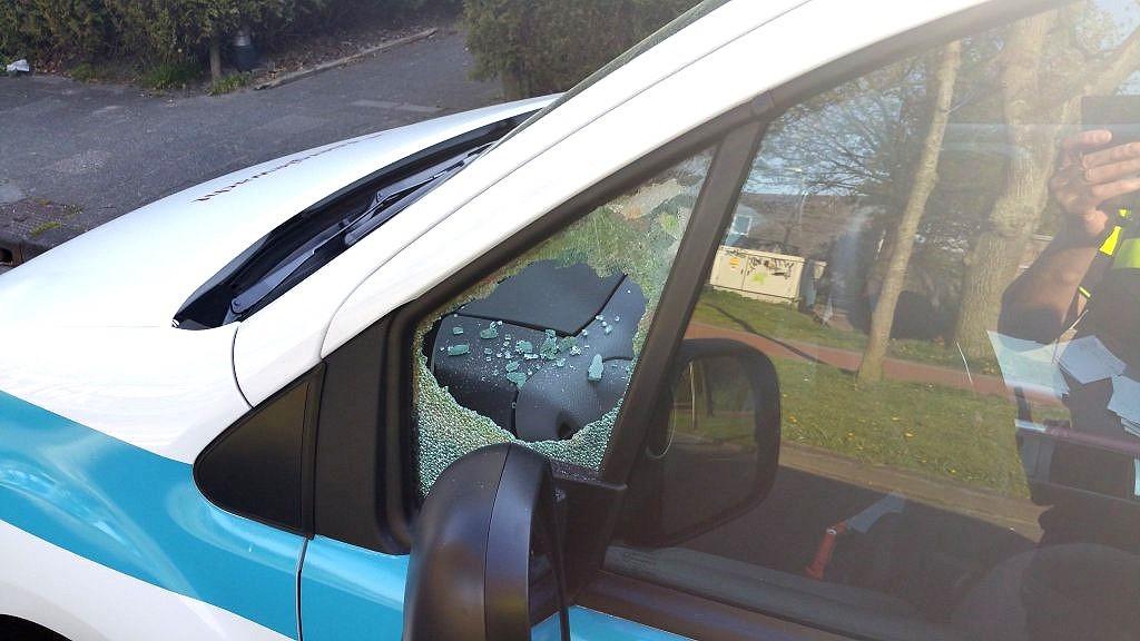 Auto inbraak in de wijk Baggelhuizen