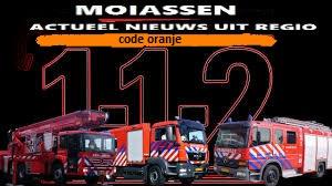 Brandweer geeft code oranje aan voor Drenthe