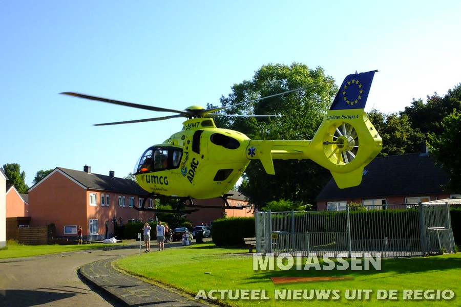 MMT ingezet na val van trap in woning Assen