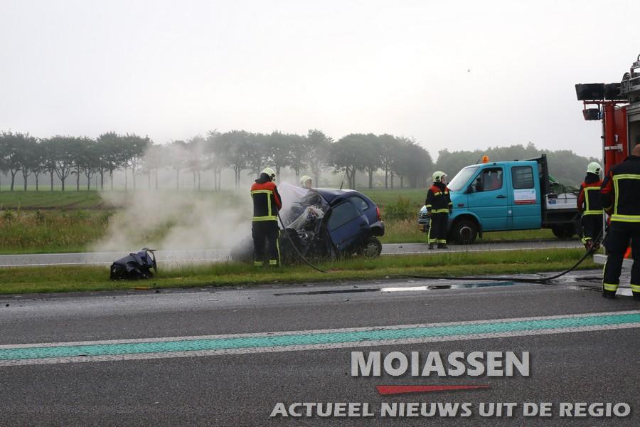 Dodelijk slachtoffer ongeluk N34 is vrouw  uit Coevorden (Video)