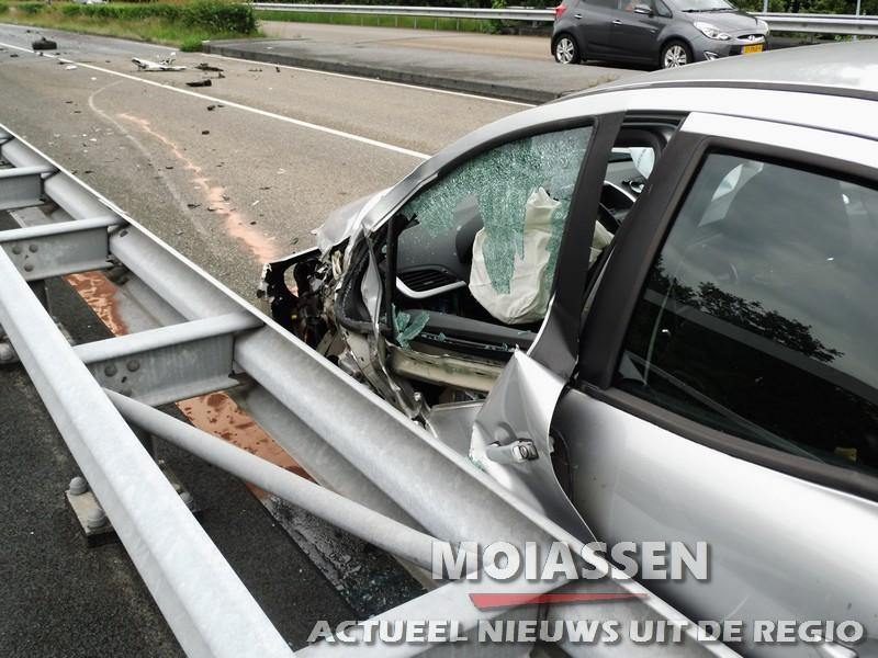 Twee gewonden bij verkeersongeval op de Europaweg-Noord in Assen