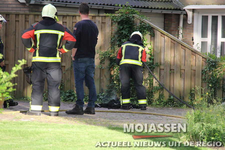 woningbrand in Gasteren (VIDEO)