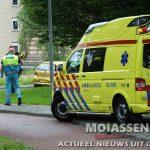 scooter bestuurde gewond na val op Maria in Campislaan in Assen