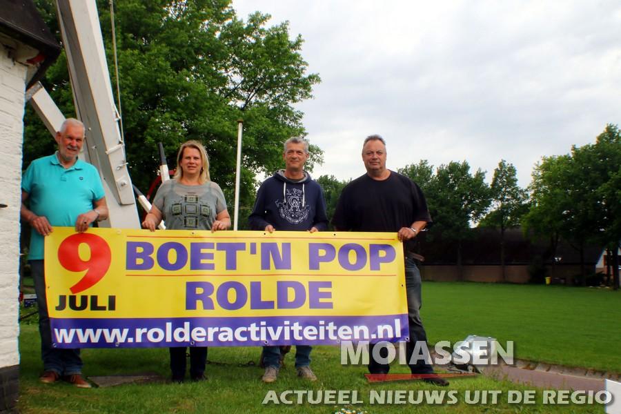 Muziekfestival Boet'n Pop in Rolde