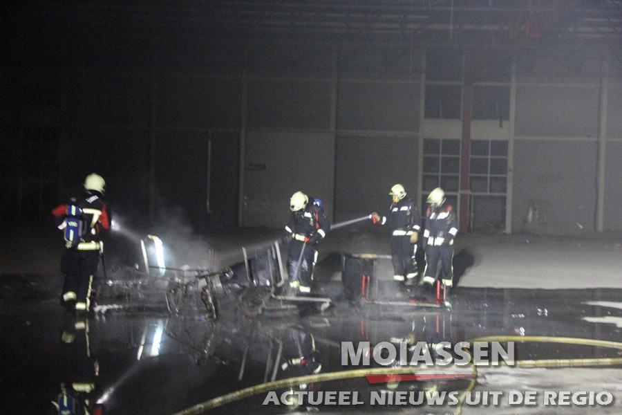 Wederom brand in Prins Bernard Hoeve in Zuidlaren