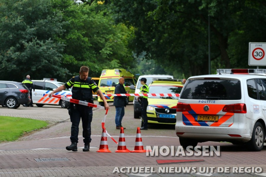 woningoverval in Gees